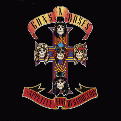 Guns and roses - Appetite for destruction